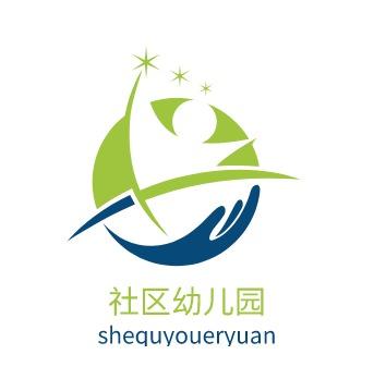 郑州社区幼儿园logo标志设计