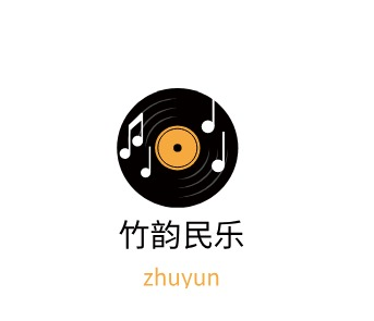 郑州竹韵民乐logo标志设计