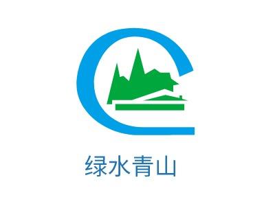 福州绿水青山logo标志设计