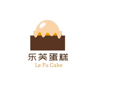 Le Fu- Cakebrandlogo设计