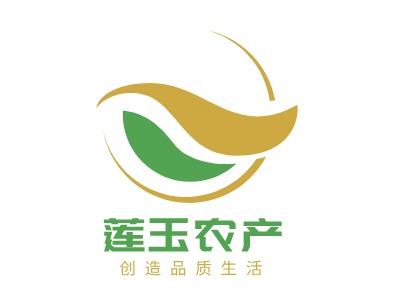莲玉农product牌logo设计