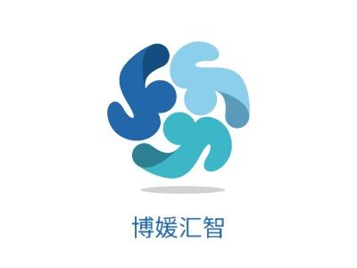 杭州博媛汇智logo标志设计
