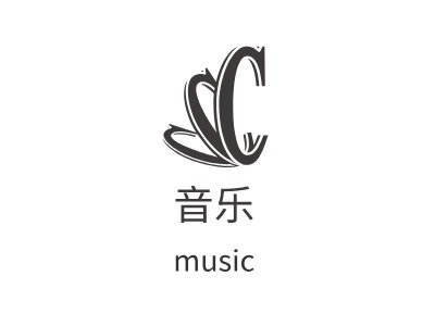 福州音乐公司logo设计