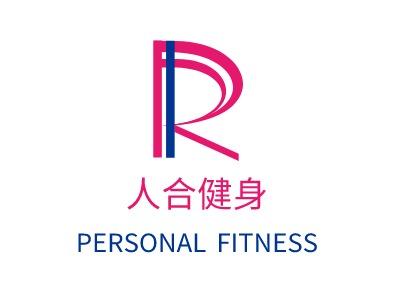 长沙人合健身logo标志设计