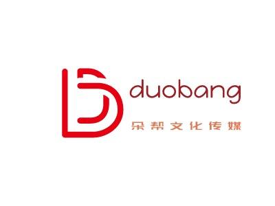 武汉朵帮文化传媒logo标志设计