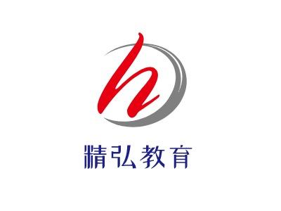 长沙精弘教育logo标志设计