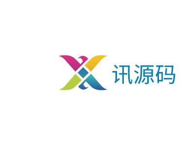 郑州讯源码公司logo设计