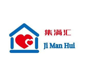 杭州集满汇公司logo设计