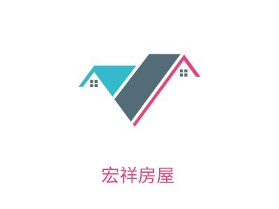 杭州宏祥房屋企业标志设计