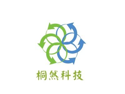 济南桐然科技公司logo设计