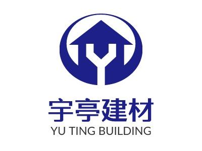 宇亭建材企业标志设计