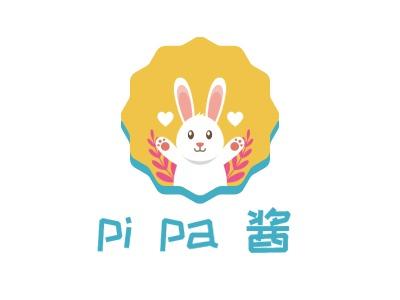 厦门pi pa 酱门店logo设计