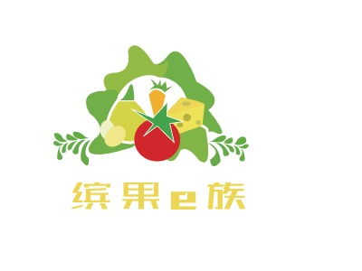 南京缤果e族店铺标志设计