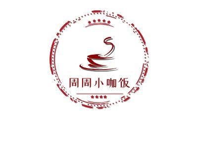 杭州周周小咖饭店铺logo头像设计