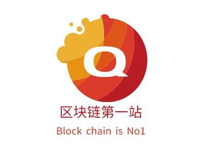 杭州区块链第一站公司logo设计