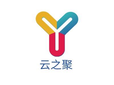 南京云之聚公司logo设计