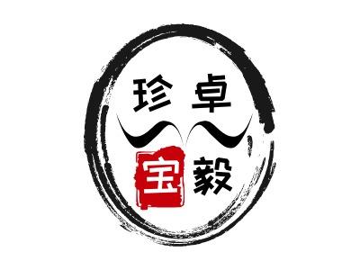 卓毅珍宝logo标志设计