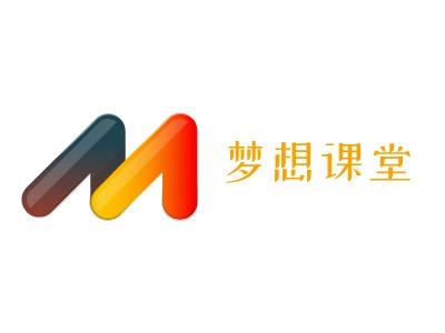 天津梦想课堂logo标志设计