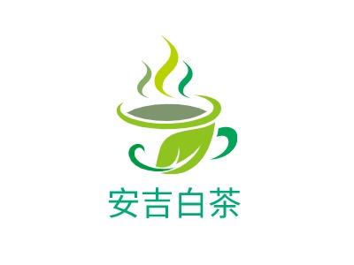 天津安吉白茶店铺logo头像设计