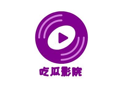 天津eat瓜影院logo标志设计