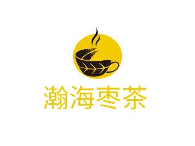 瀚海枣茶店铺logo头像设计