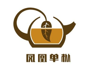 凤凰单枞店铺logo头像设计