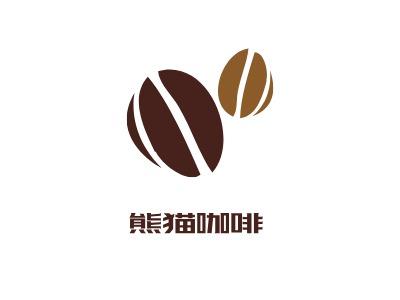 熊cat Coffee 店铺logo头像设计