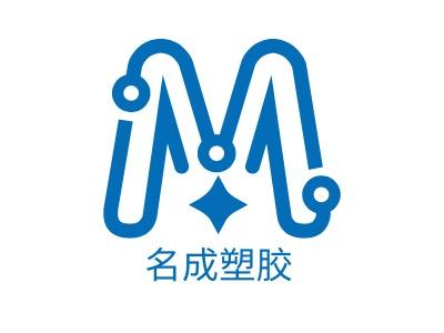 名成塑胶公司logo设计