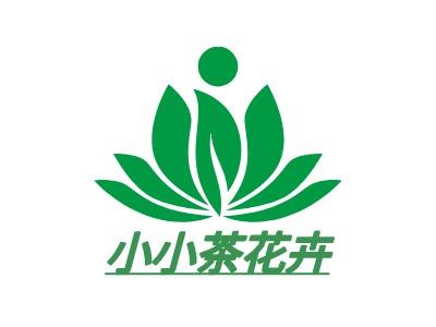 小小茶花卉企业标志设计