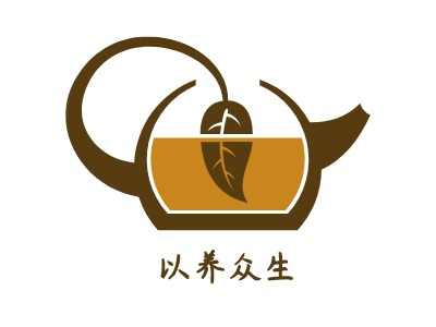 以养众生店铺logo头像设计