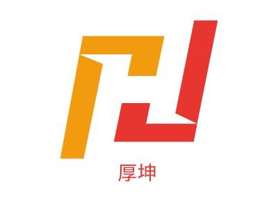 厚坤企业标志设计