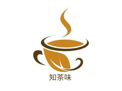 知茶味店铺logo头像设计