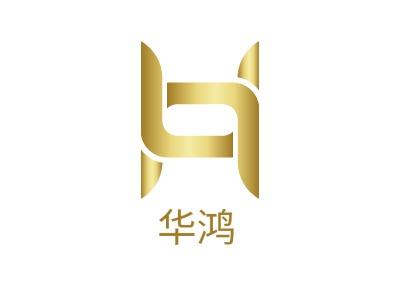 华鸿企业标志设计