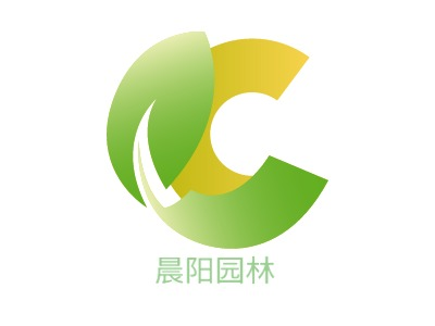 天津晨阳园林brandlogo设计