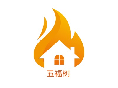 五福树公司logo设计
