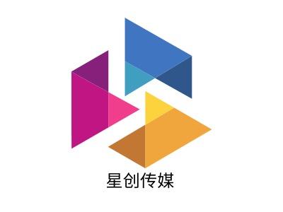 星创传媒门店logo设计