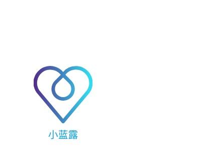 上海小蓝露企业标志设计