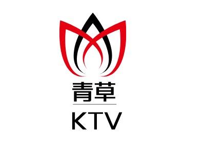 青草KTV公司logo设计