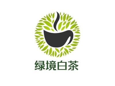 绿境白茶brandlogo设计