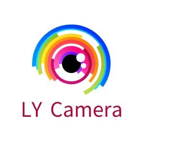 LY Camera公司logo设计