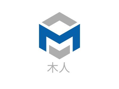 木人logo标志设计