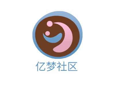 亿梦社区公司logo设计