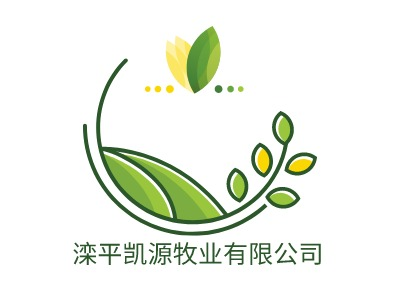 滦平凯源牧业有限公司brandlogo设计