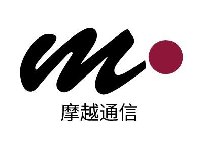 上海摩越通信公司logo设计