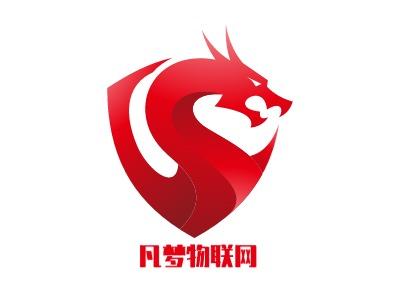 凡梦物联网公司logo设计