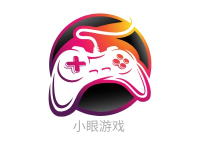 小眼gamelogo标志设计