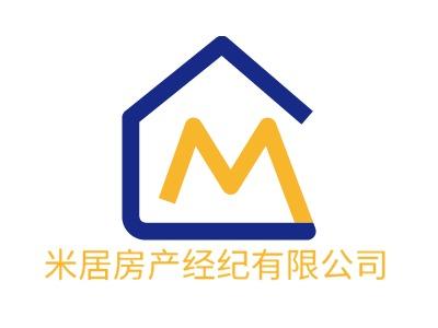 米居房产经纪有限公�酒笠�标志设计