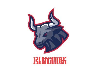 泓优物联logo标志设计