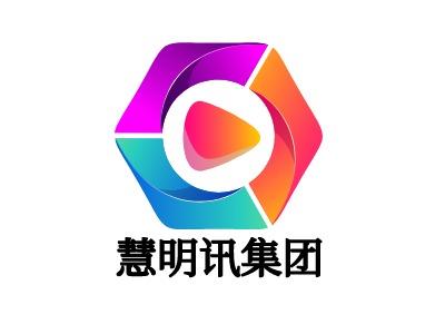 慧明讯集团公司logo设计
