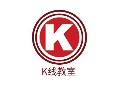 上海K线教室公司logo设计